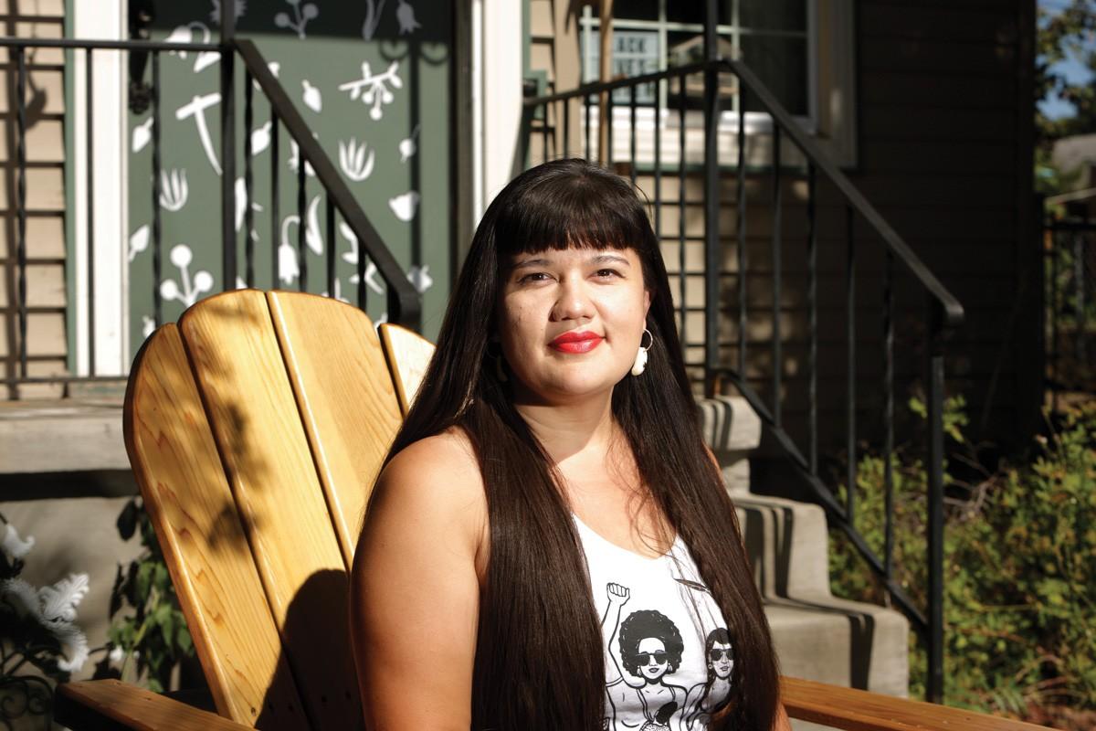 Author and artist Emma Noyes. - YOUNG KWAK PHOTO