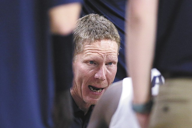 Mark Few and his Gonzaga players are having a rough go with COVID in the early stages of the season. - YOUNG KWAK