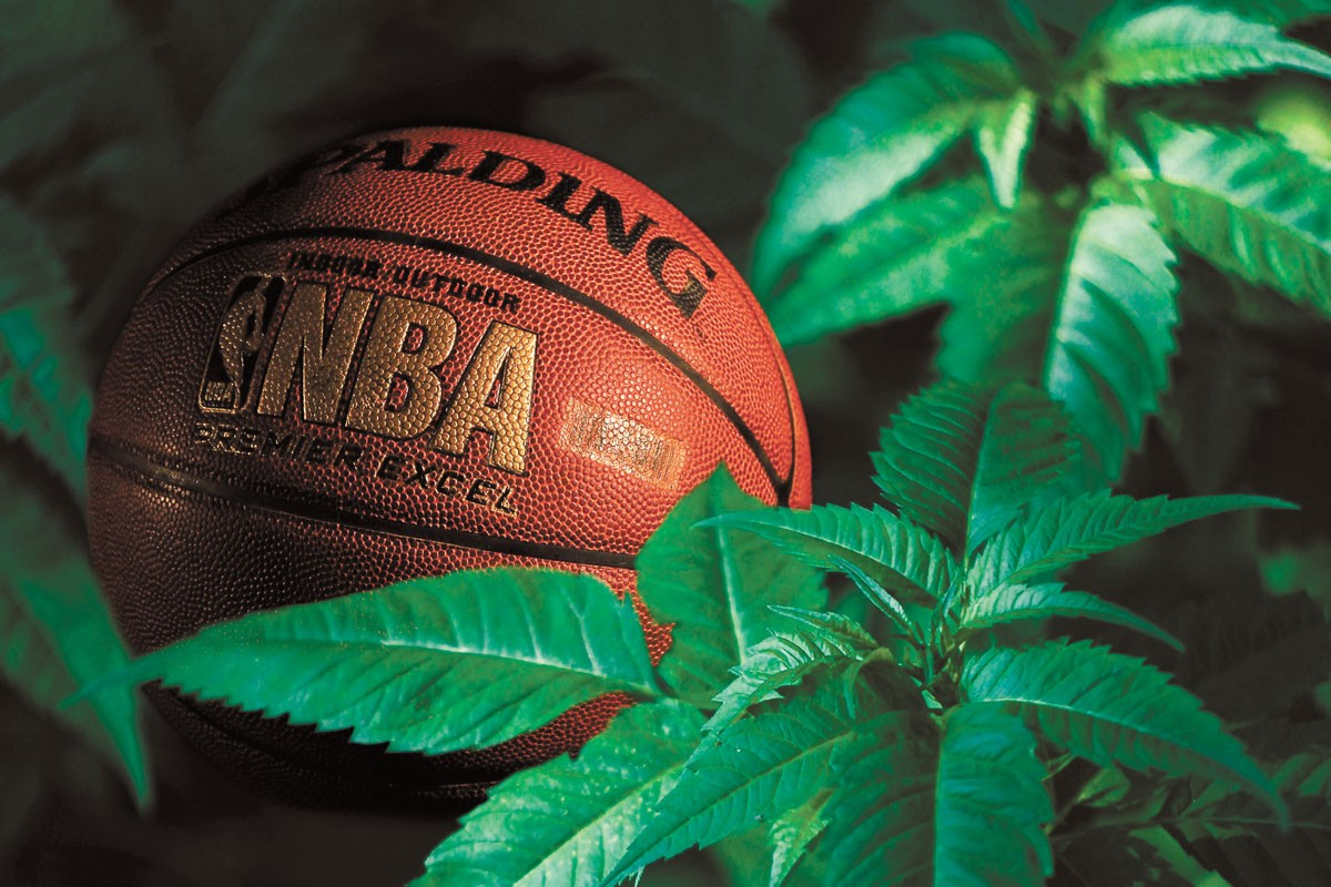 Expect a new level of dunking creativity now that the NBA has stopped testing for cannabis.