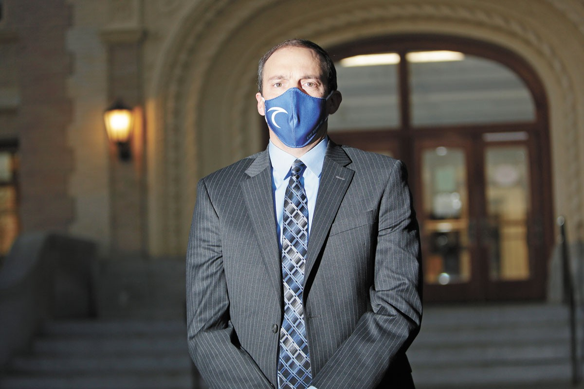 As a state representative, Marcus Riccelli pushed legislation to expand representation on the Spokane County commission. - YOUNG KWAK PHOTO