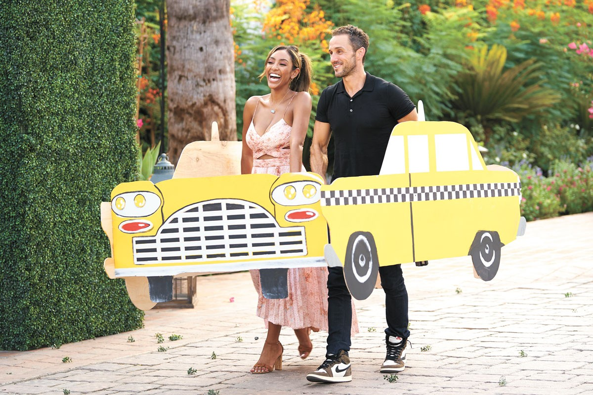 Make no mistake, Tayshia definitely was in the driver's seat on this season's Bachelorette.