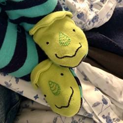 Cy's tiny baby feet