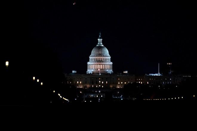 The U.S. Capitol building in Washington - STEFANI REYNOLDS/THE NEW YORK TIMES