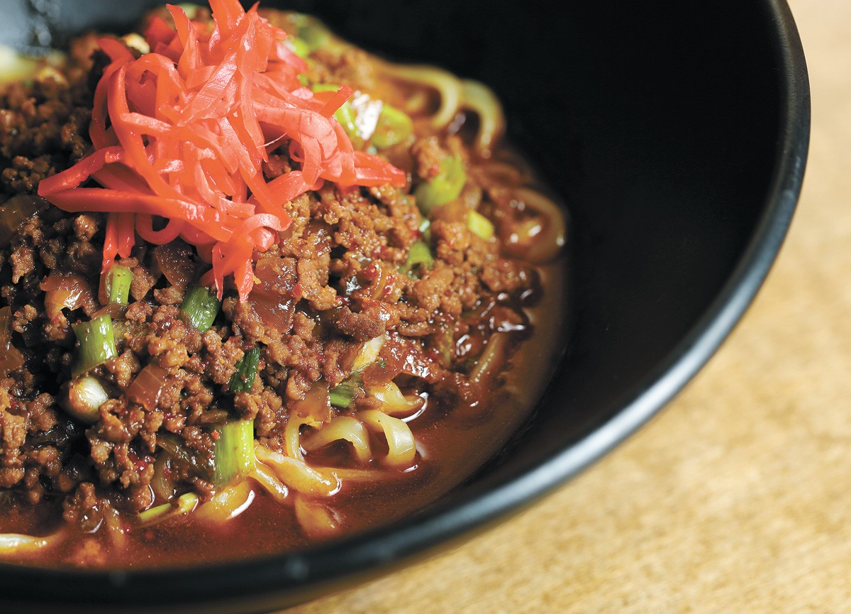 Spicy minced pork ramen from King of Ramen - YOUNG KWAK PHOTO