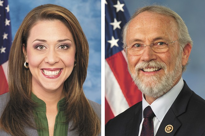 U.S. Representatives Jaime Herrera Beutler (left) and Dan Newhouse