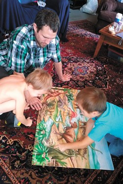 Before he died, Daniel Jarman was looking forward to spending more time with his two sons. - COURTESY PHOTOS