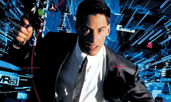 Fun fact: Keanu Reeves' 1995 cyber-thriller Johnny Mnemonic is set in 2021.