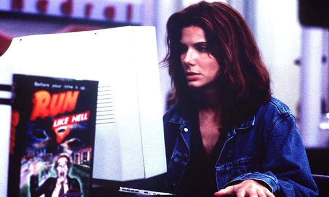 Sandra Bullock in The Net, a flick ahead of its time!
