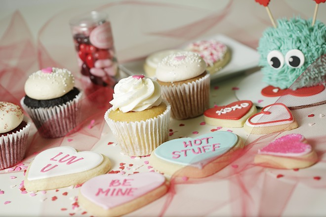 Sweet Frostings is offering a variety of adorably sweet Valentine's treats this year. - YOUNG KWAK