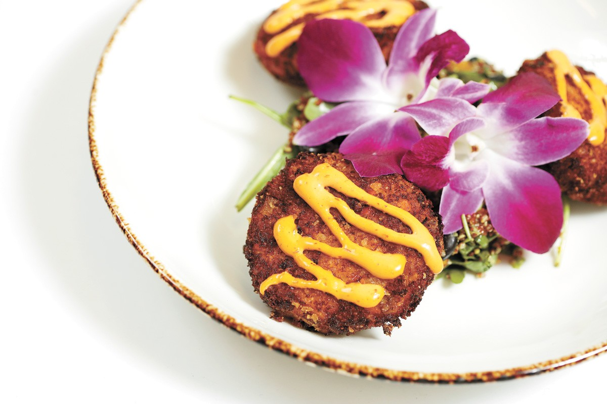 Smoked Halibut Cakes from Steam Plant Grill offered during last year's Restaurant Week. - YOUNG KWAK PHOTO