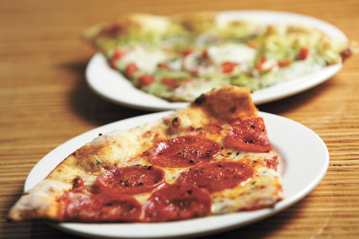 Different name, same delicious pie: Veraci is now Versalia Pizza. - YOUNG KWAK PHOTO