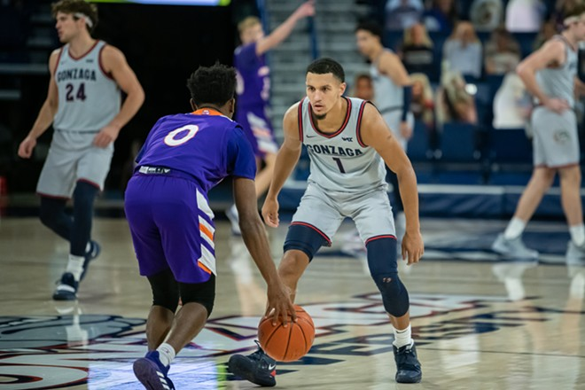 Time for the Zags to hunker down and take care of business at the WCC tournament. - ERICK DOXEY