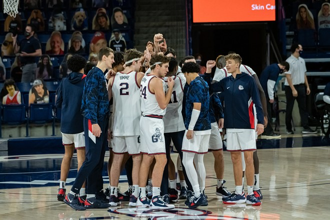 Gonzaga aims for a WCC championship tonight at 6 pm on ESPN. - ERICK DOXEY