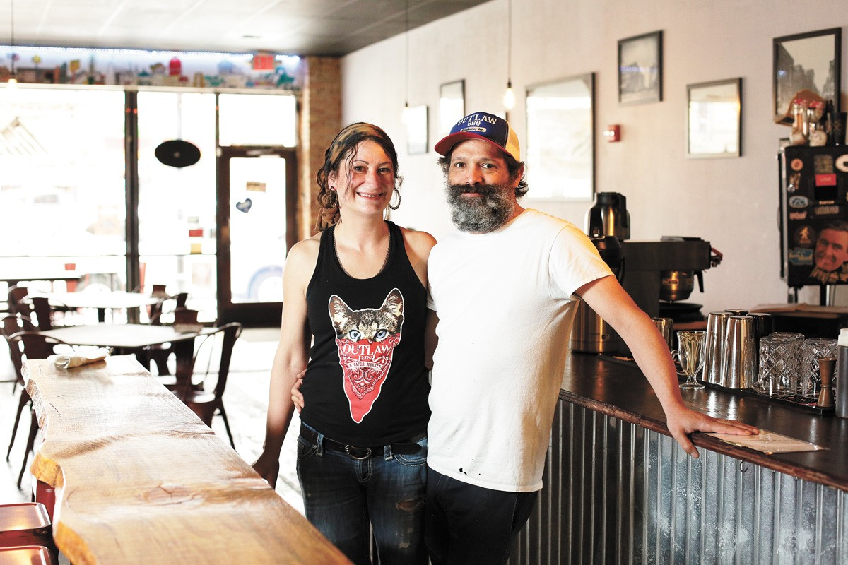 Raelene and Tony Elliott, owners of Elliotts an Urban Kitchen