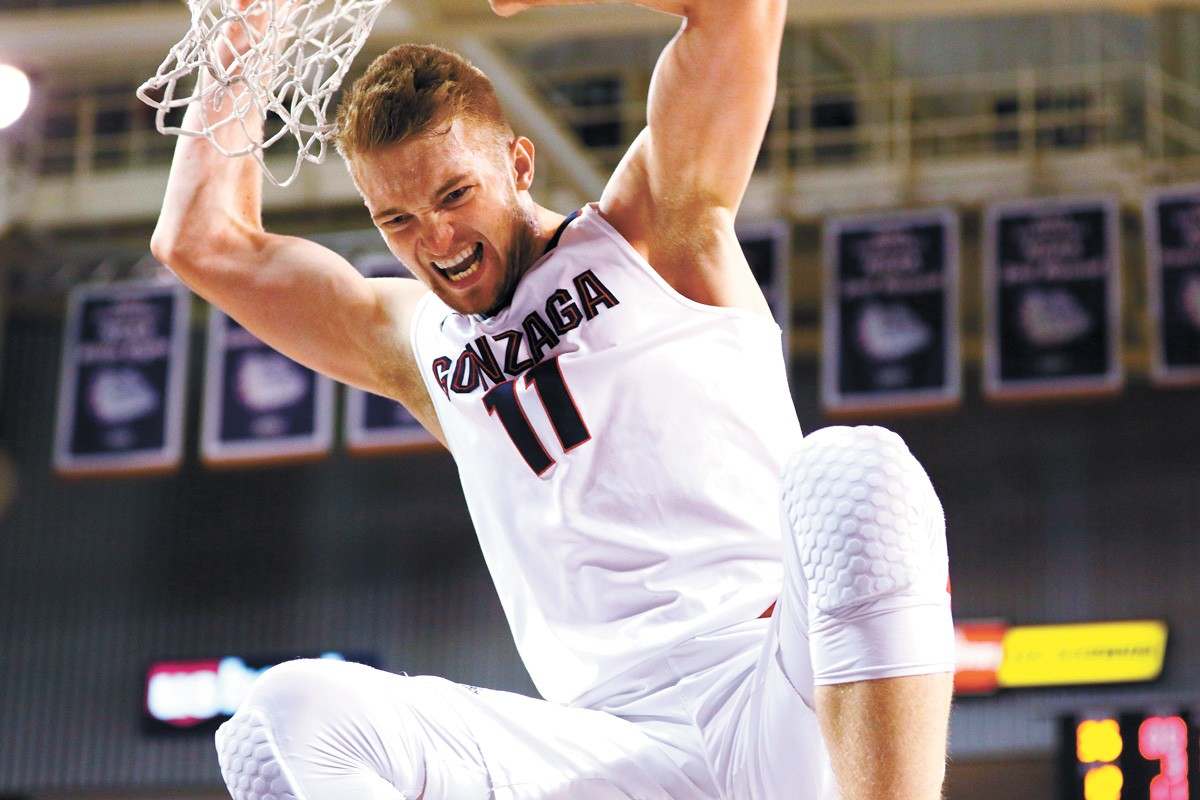 Domantas Sabonis went from dominating in college to stardom in the NBA. - GONZAGA UNIVERSITY ATHLETICS PHOTO