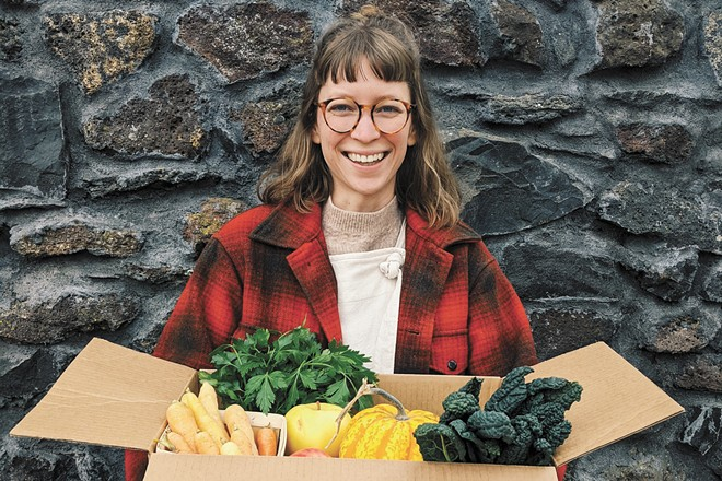LINC's boxes contain a different variety of vegetables each month. - LINC FOODS PHOTO