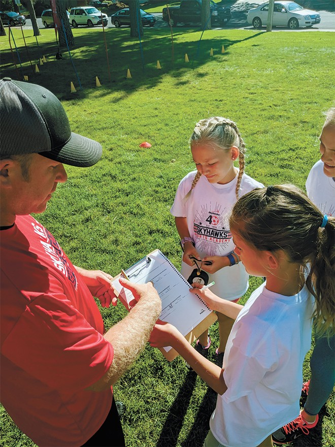Skyhawks hosts its many sports camps at parks across the region.