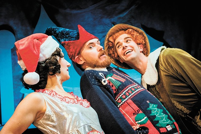 Elf the Musical  at the Spokane Civic Theatre in 2018. - ERICK DOXEY PHOTO