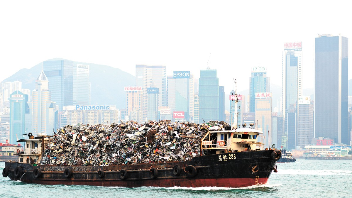 About three years ago, China announced that it would no longer take America's highly contaminated recycled waste.