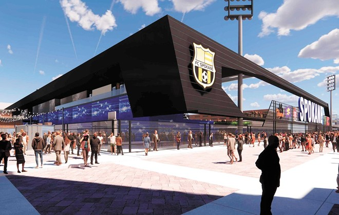 The United Soccer League has given a firm commitment to bring a pro team to Spokane if the stadium is built downtown.