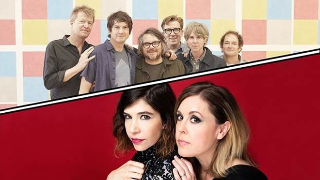 Wilco and Sleater-Kinney are coming back (again) to Spokane on Aug. 5.