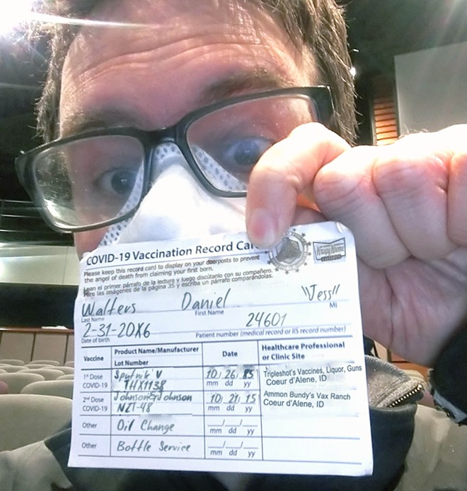 If Photoshopped thirst-trap vaccine selfies of local journalists can't convince more people to get vaccinated, nothing can. - DANIEL WALTERS SELFIE (WITH KEY DETAILS ALTERED)