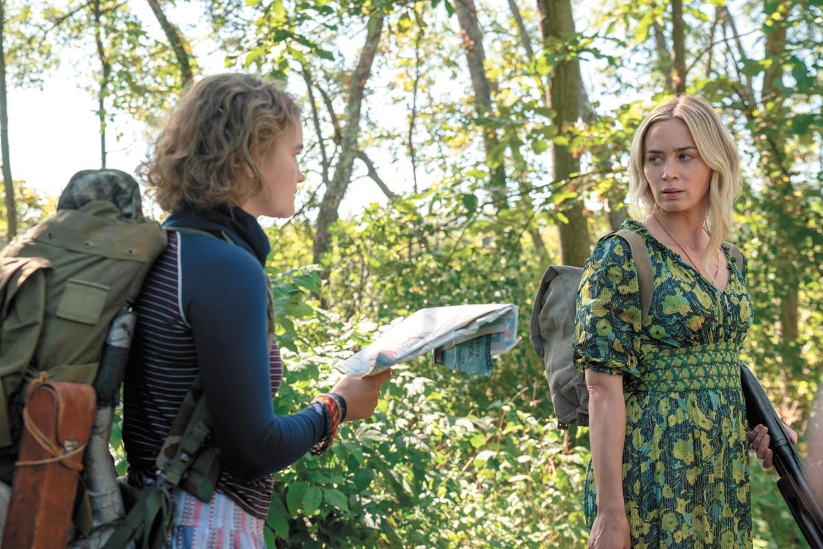 Emily Blunt keeps it to a dull roar in A Quiet Place Part II.