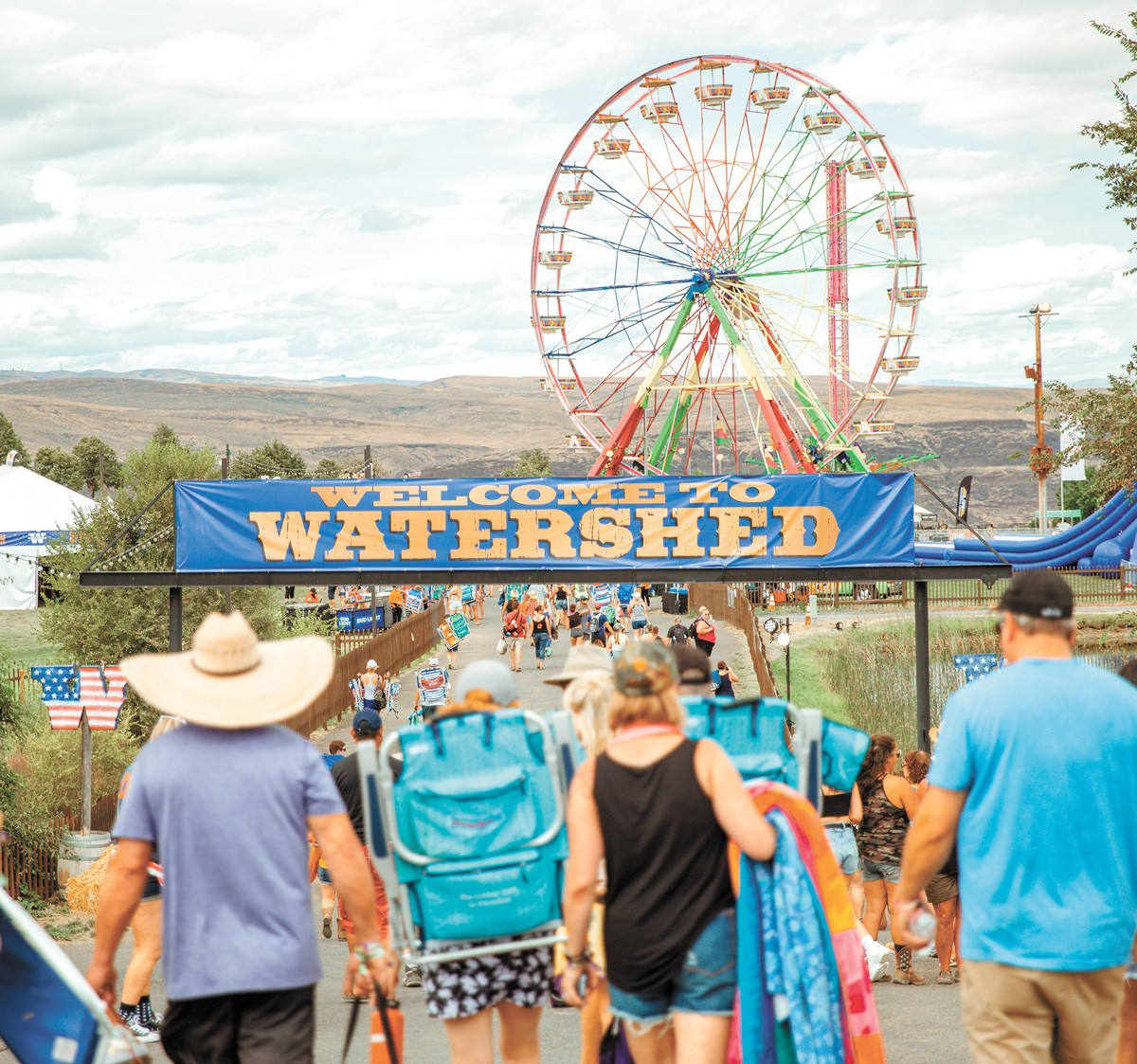 Hydration is key to this mid-summer bash. - WATERSHED PHOTO