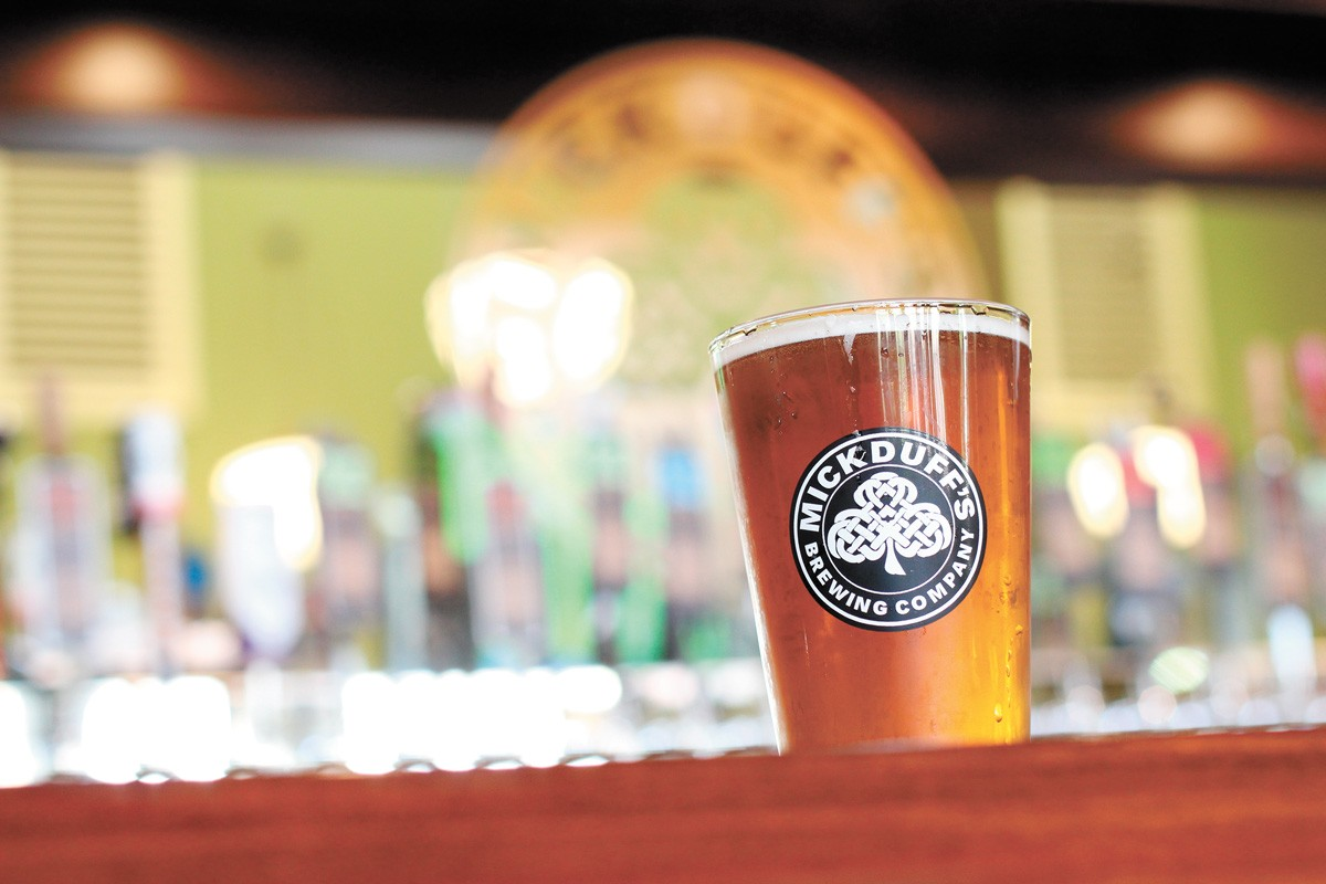 MickDuff's Brewing Co. in Sandpoint opened a new location in late 2020. - CARRIE SCOZZARO PHOTO
