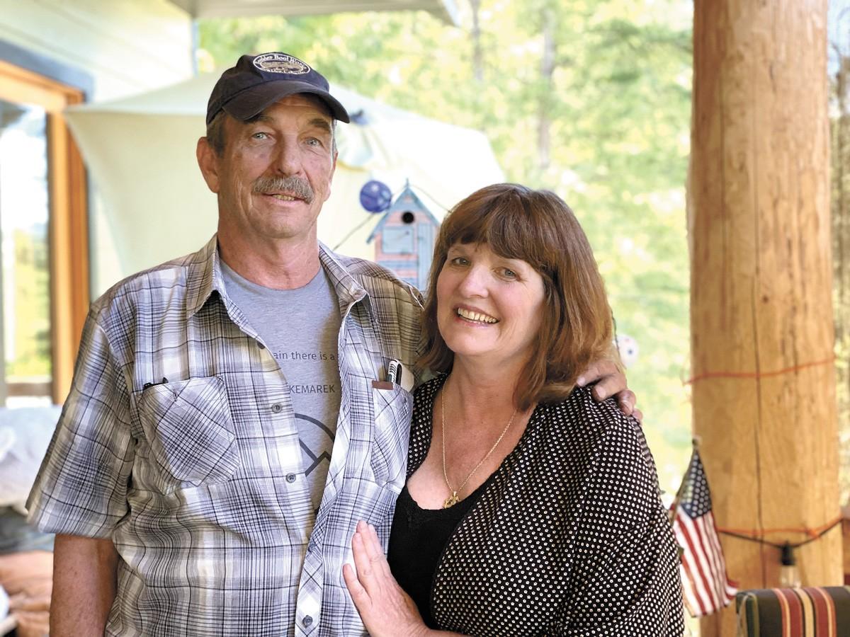Sid Clark and Dawn Wiksten - SAMANTHA WOHLFEIL PHOTO