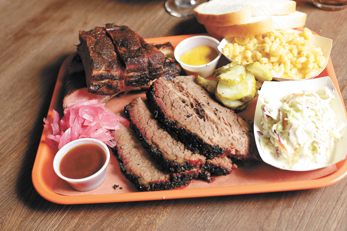 St. Louis pork ribs and brisket, plus all the fixings at TT's. - YOUNG KWAK PHOTO