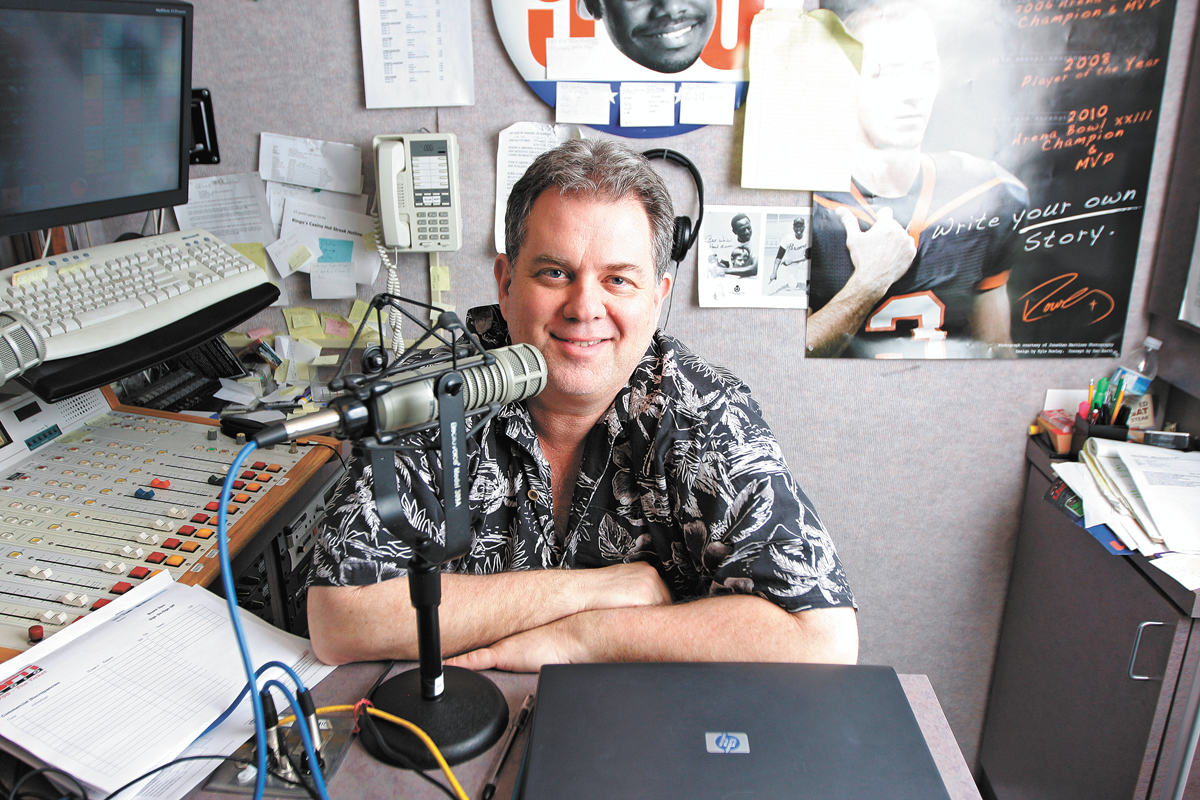 Dennis Patchin switched teams, leaving KXLY for KHQ. - YOUNG KWAK PHOTO