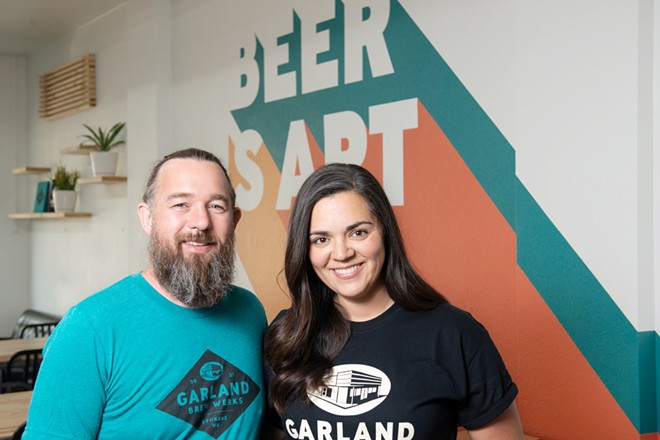 Owners TJ and Sarah Wallin - DEREK HARRISON PHOTO