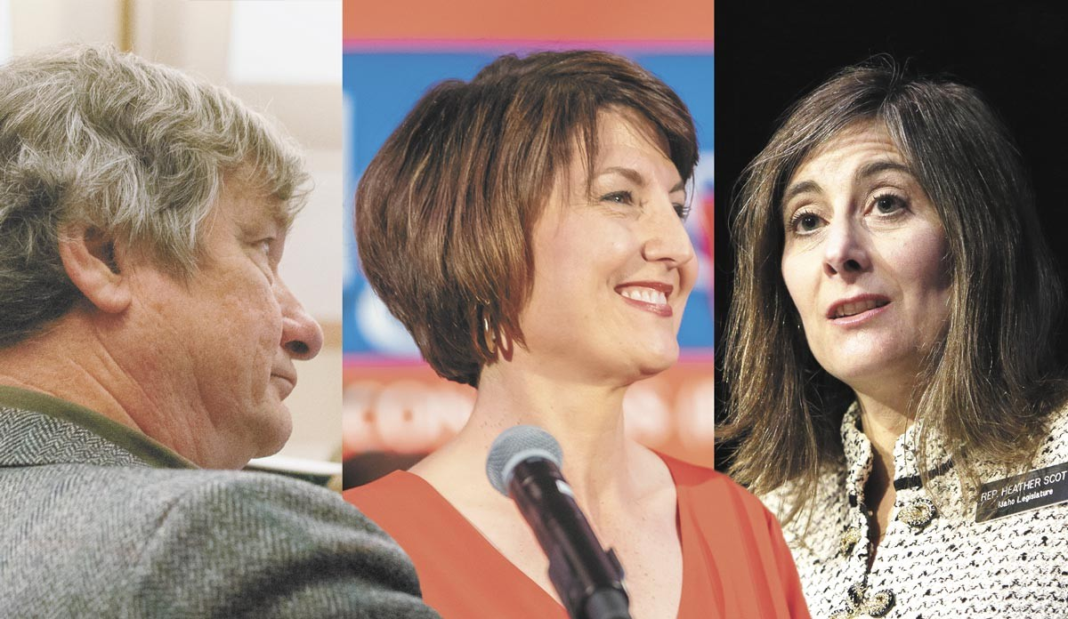 Rob Chase, Cathy McMorris Rodgers and Heather Scott: One is unvaccinated, one is vaccinated and one won't tell us. Can you guess who's who?