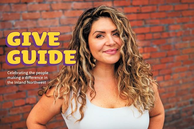 Jennyfer Mesa, founder of Latinos En Spokane - ERICK DOXEY PHOTO