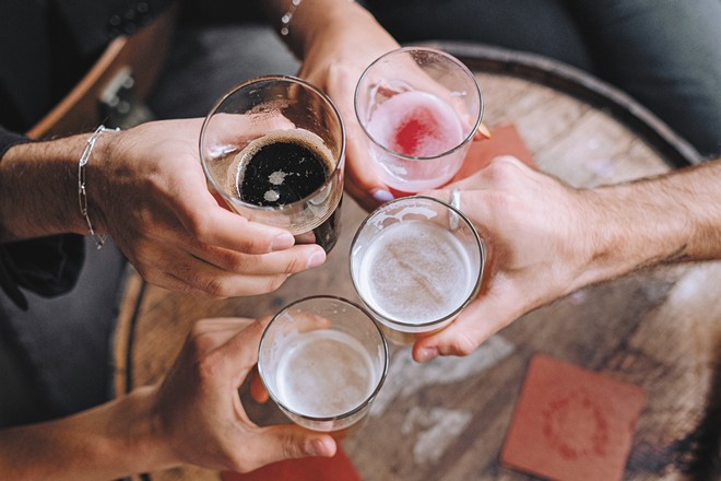 Beers with friends near and far drive this app.