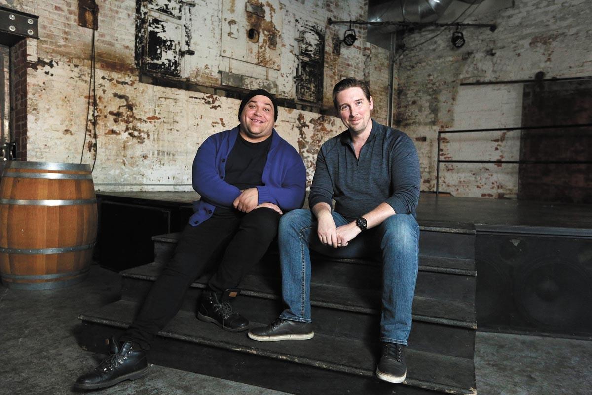 Dahveed Bullis (left) and Scott Doughty - YOUNG KWAK PHOTO
