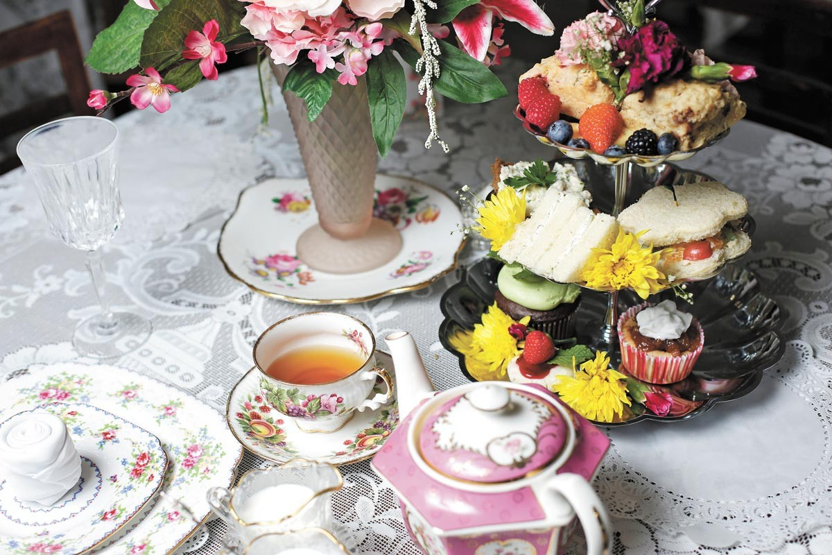 Heavenly Special Teas offers a variety of high tea packages. - YOUNG KWAK PHOTO