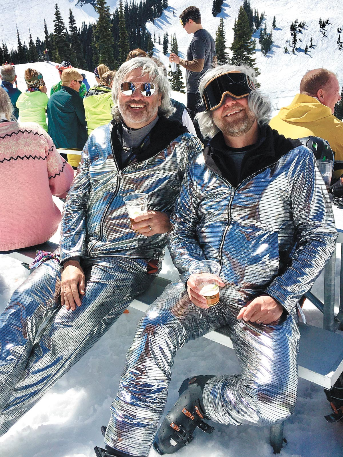 How to find a Winter Friend? Matching ski suits! - COURTESY JOHN GROLLMUS