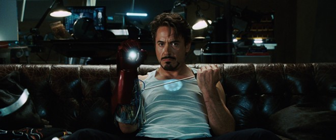 Arc reactor technology typically requires a Phillips-head screwdriver to repair, for the record.