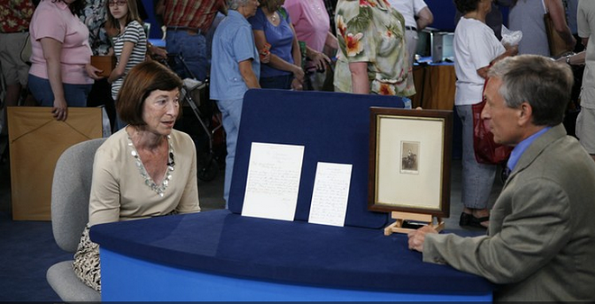 An attendee of Antiques Roadshow's last stop in Spokane had two letters written by Abe Lincoln appraised. - PBS.ORG