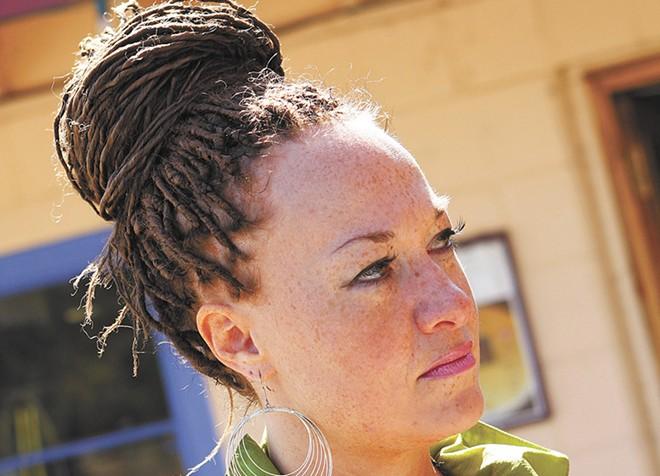 Rachel Dolezal in 2010 in Coeur d'Alene, Idaho. - YOUNG KWAK