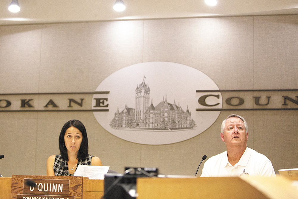 Spokane County Commissioner Shelly O'Quinn has taken on the decades-old fight to add two more commissioners to the board. - YOUNG KWAK