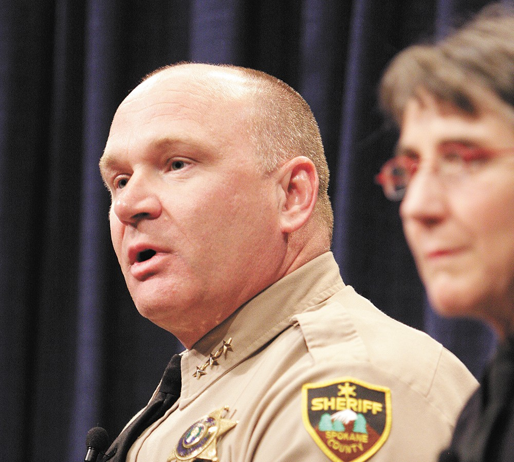 Spokane County Sheriff Ozzie Knezovich is worried about violent extremists in the Inland Northwest. - YOUNG KWAK