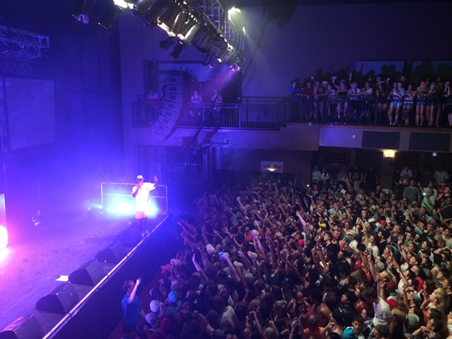 At Tuesday night's Tyler, the Creator show, the MC skipped out on an encore. - LAURA JOHNSON