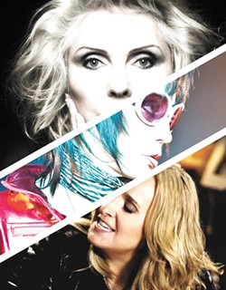 Blondie, Joan Jett and Melissa Etheridge converge at Northern Quest on Monday.