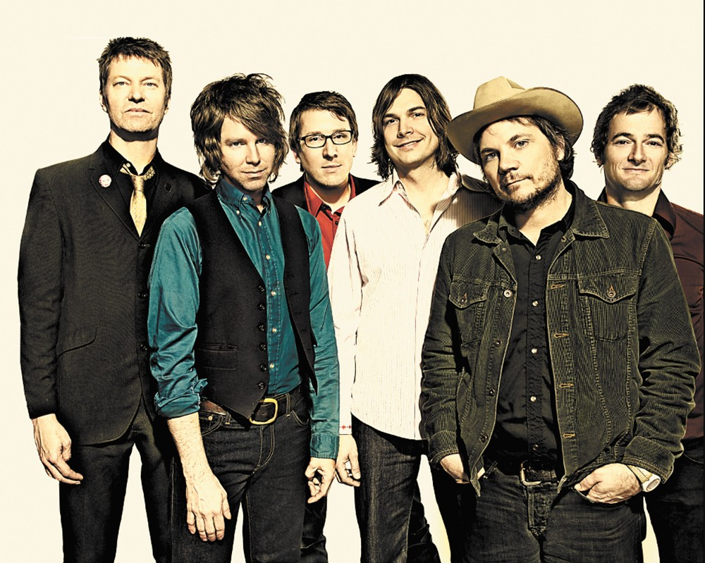 Wilco headlines the Festival at Sandpoint on Saturday, Aug. 15.