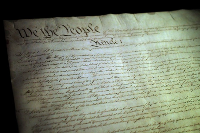 If you recognize this document you may be a constitutionalist.