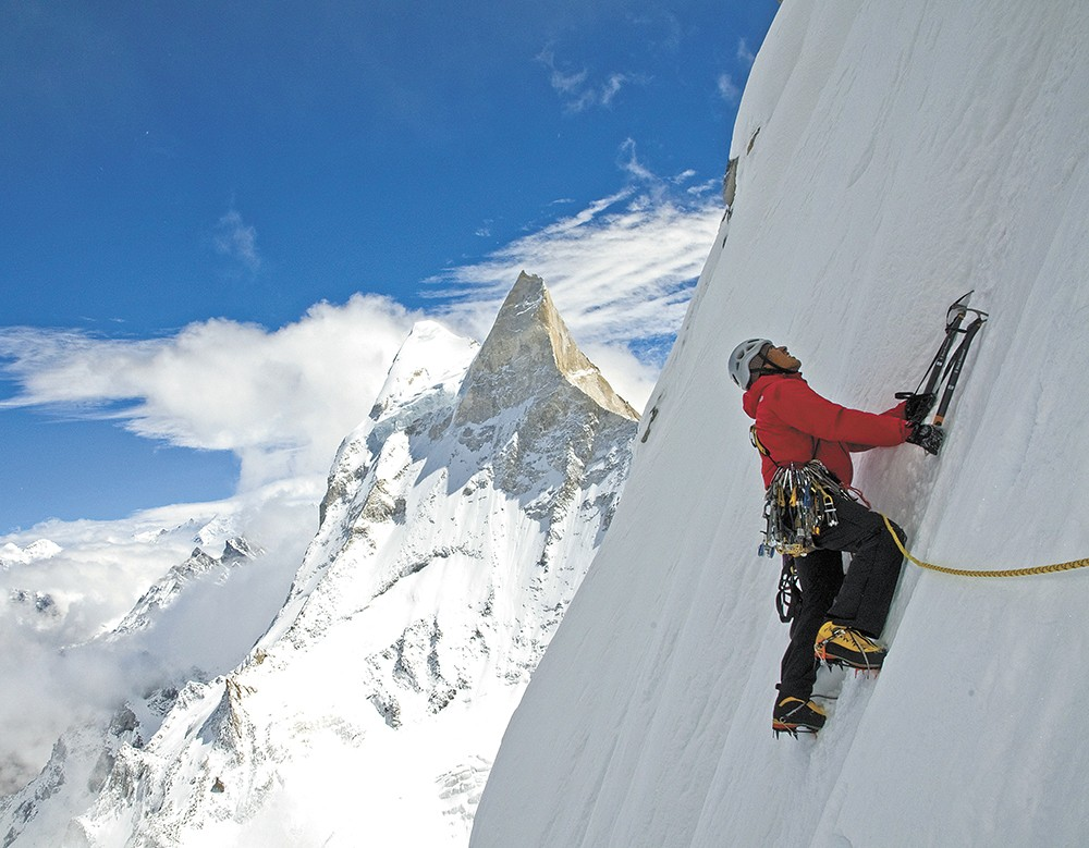 In the documentary Meru, climbers attempt to ascend one of the toughest peaks in the world.