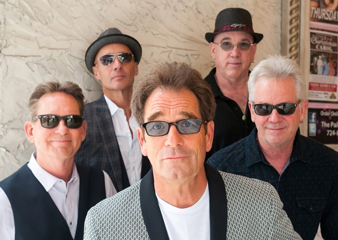 Huey Lewis & The News love their sunglasses.